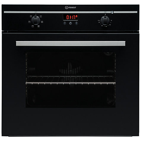 Buy Indesit FIM53KABK Single Electric Oven, Black Online at johnlewis.com