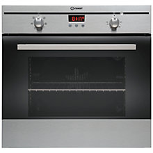 Buy Indesit FIM53KAIX Single Electric Oven, Stainless Steel Online at johnlewis.com