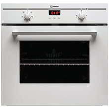 Buy Indesit FIM53KAWH Single Electric Oven, White Online at johnlewis.com