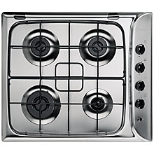 Buy Indesit PIM640ASIX Gas Hob, Stainless Steel Online at johnlewis.com