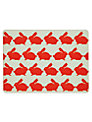 Anorak Kissing Rabbits Placemats, Set of 4