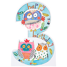 Buy Rachel Ellen Birthday Card, Age 3 Online at johnlewis.com