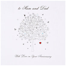 Buy Five Dollar Shake Mum And Dad Anniversary Card Online at johnlewis.com