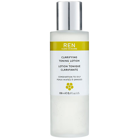 Buy REN Clarifying Toning Lotion, 150ml Online at johnlewis.com