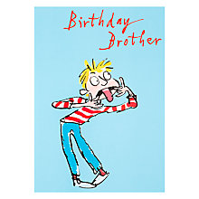 Buy Woodmansterne Brother Birthday Card Online at johnlewis.com