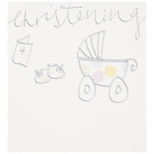 Buy Caroline Gardner Christening Day Card Online at johnlewis.com
