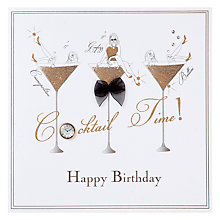Buy Five Dollar Shake Cocktail Time Birthday Card Online at johnlewis.com