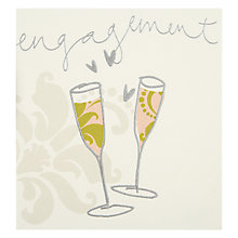Buy Engagement Glasses Greeting Card Online at johnlewis.com