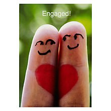 Buy Engagement Love Greeting Card Online at johnlewis.com