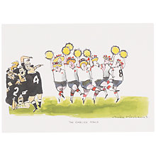 Buy Wildcard English Haka Greeting Card Online at johnlewis.com