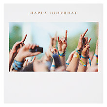 Buy Susan O' Hanlon Festival Hands Birthday Card Online at johnlewis.com