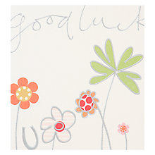 Buy Caroline Gardner Good Luck Card Online at johnlewis.com
