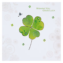 Buy Hammond Gower Good Luck Card Online at johnlewis.com