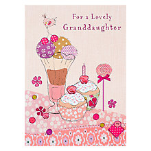 Buy Great British Card Company Grandaughter Birthday Card Online at johnlewis.com