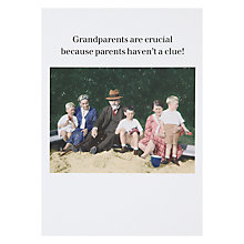 Buy Cath Tate Cards Grandparents Humorous Greeting Card Online at johnlewis.com