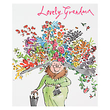 Buy Woodmansterne Lovely Grandma Birthday Card Online at johnlewis.com