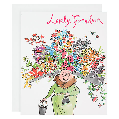 Buy Woodmansterne Lovely Grandma Birthday Card John Lewis
