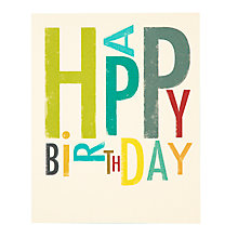 Buy Art File Birthday Card Online at johnlewis.com