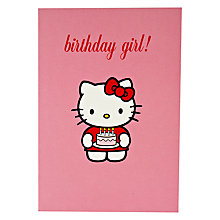 Buy Hype Hello Kitty Birthday Card Online at johnlewis.com