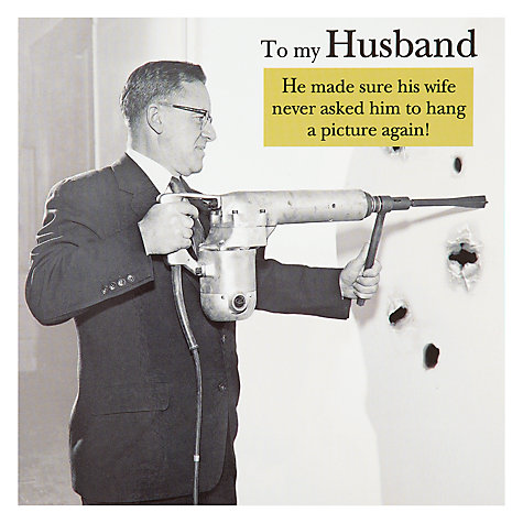 Buy Pigment Husband Birthday Card Online at johnlewis.com