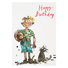 Buy Woodmansterne Football Birthday Card Online at johnlewis.com