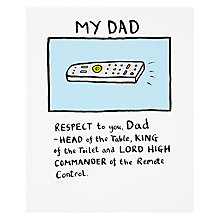 Buy Really Good My Dad Birthday Card Online at johnlewis.com