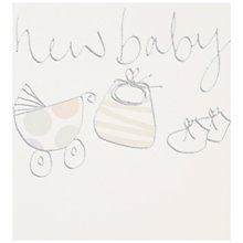 Buy Caroline Gardner New Baby Card Online at johnlewis.com