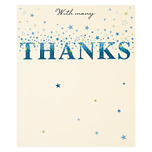Buy Great British Card Company Thank You Card Online at johnlewis.com