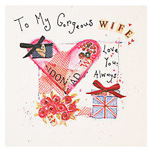 Buy Mint Wife Birthday Card Online at johnlewis.com