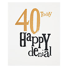 Buy Really Good 40th Birthday Card Online at johnlewis.com
