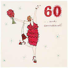 Buy Woodmansterne 60th Birthday Card Online at johnlewis.com