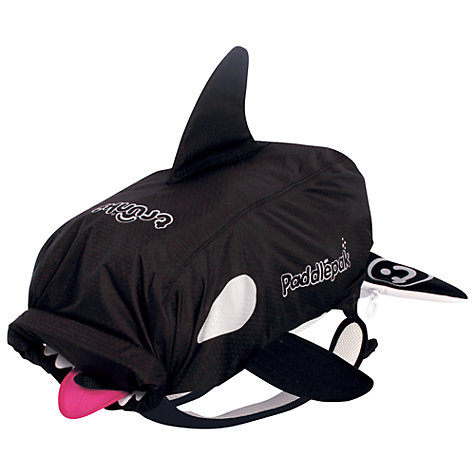 Buy Trunki Paddle Pak Killer Whale, Black Online at johnlewis.com