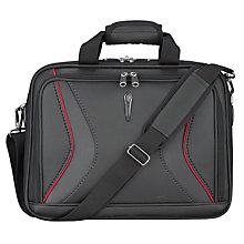"Buy John Lewis City 15"" Laptop Briefcase, Black Online at johnlewis.com"