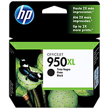 Buy HP 950XL Ink Cartridge, Black, CN045AE Online at johnlewis.com