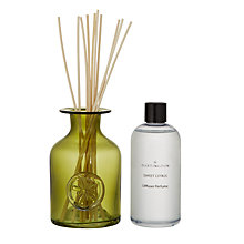 Buy Dartington Crystal Flower Diffuser, Sweet Citrus , Green Online at johnlewis.com