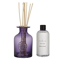 Buy Dartington Crystal Flower Diffuser, Soft Dusk, Purple Online at johnlewis.com