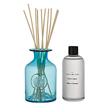 Buy Dartington Crystal Flower Diffuser, Fresh Linen, Turquoise Online at johnlewis.com