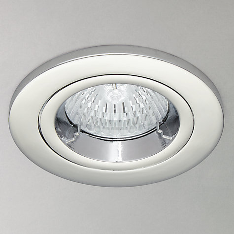 Buy Saxby Recessed Shield MV Spotlight, Chrome Online at johnlewis.com