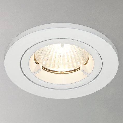 Buy Saxby Recessed Shield MV Spotlight, White Online at johnlewis.com