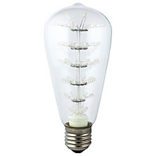 Buy Calex 2.5W ES Pearl LED Rustic Bulb, Brown Online at johnlewis.com