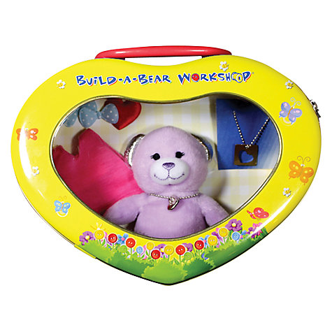 Buy Build a Bear Workshop Heart Tin, Assorted Online at johnlewis.com