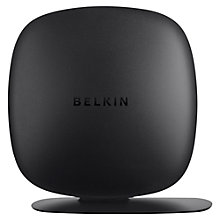 Buy Belkin Surf N300 Wireless Router, Black Online at johnlewis.com