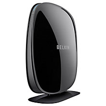 Buy Belkin Play N600 Dual-Band Wireless N+ Router, Black Online at johnlewis.com