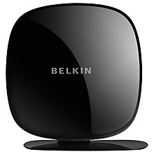 Buy Belkin Play N600 Dual-Band Wireless N+ Router for BT Connection, Black Online at johnlewis.com