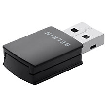 Buy Belkin Surf+ N300 Micro Wireless USB Adapter Online at johnlewis.com