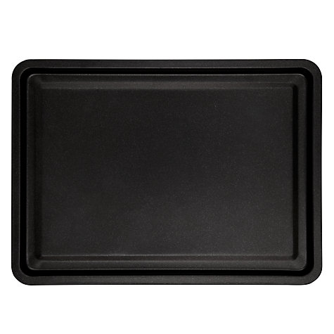 Buy John Lewis The Basics Nonstick Oven Tray, 32cm Online at johnlewis.com