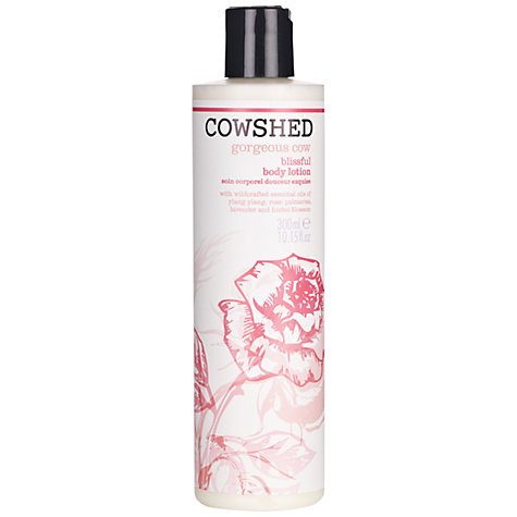Buy Cowshed Gorgeous Cow Body Lotion, 300ml Online at johnlewis.com