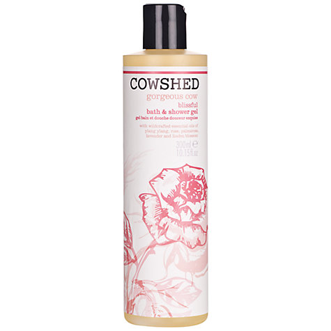 Buy Cowshed Gorgeous Cow Bath & Shower Gel, 300ml Online at johnlewis.com