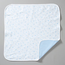Buy Teddy & Me Baby Bear Premature Baby Blanket, Blue Online at johnlewis.com