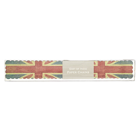 Buy East of India Union Jack Paper Chains Online at johnlewis.com